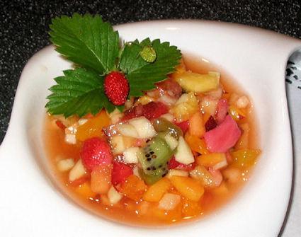 Recette de salade de fruits frais
