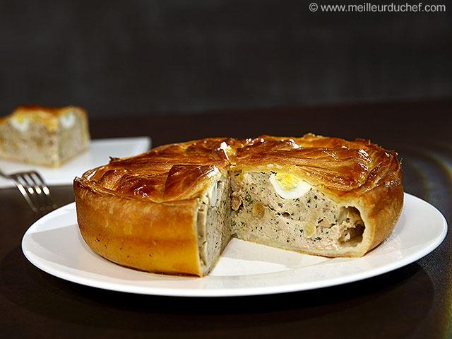 Pâté de pâques  notre recette avec photos  meilleurduchef.com