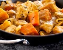 Poulet à la crème de curry | cuisine az