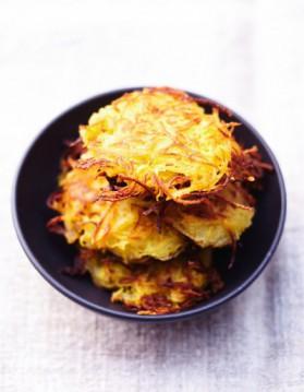 Les galettes de pommes de terre pour 6 personnes