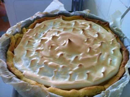 Recette de tarte au citron meringuée simple et rapide