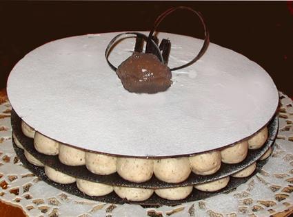 Recette de millefeuille chocolat-marrons glacés