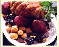 Recette gigue de chevreuil aux fruits d'automne