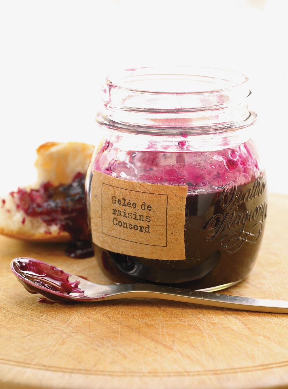 Gelée de raisins concord   ricardo