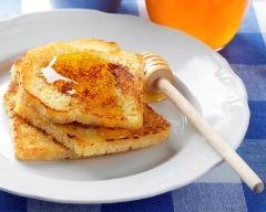 Recette pain perdu au miel