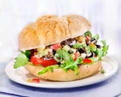 Recette sandwich façon pan bagnat