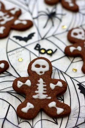 Recette de biscuits au cacao pour halloween