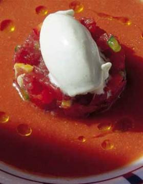 Tartare de thon et crème glacée de wasabi pour 6 personnes ...