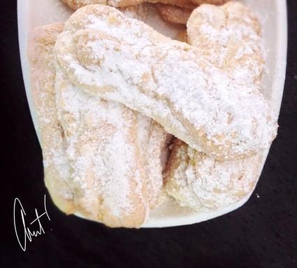 Recette de biscuits à la cuillère