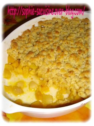 Recette de crumble pommes-patidou et noisette