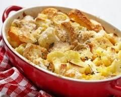 Recette gratin de pommes de terre au camembert