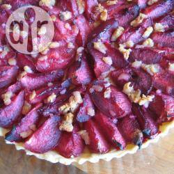 Recette tarte aux prunes et à la pâte d'amande – toutes les ...