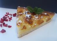 Recette tarte aux pommes à l'alsacienne (tarte dessert)