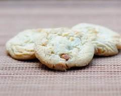 Recette cookies amandes et chocolat blanc sans gluten