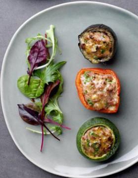 Légumes farcis pour 4 personnes