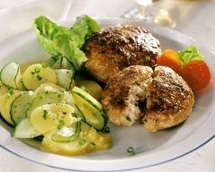 Recette boulettes de veau et salade de pommes de terre