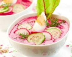 Recette soupe de radis et de betteraves
