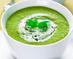 Recette soupe de courgette à la vache qui rit