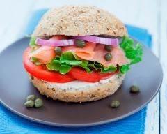 Recette burger au saumon allégé