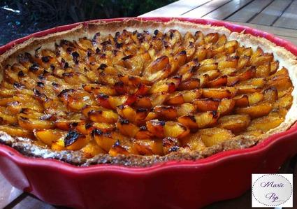 Recette de tarte aux mirabelles 100% maison