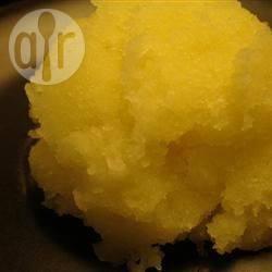 Recette sorbet à la courgette et au citron – toutes les recettes ...
