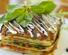 Recette lasagnes mozzarella et pesto