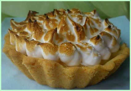 Recette de tarte citron meringuée framboises