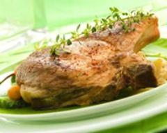 Recette côte de porc au sel de bayonne et piment d'espelette