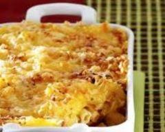 Recette gratin de macaronis au canard et à l'emmental