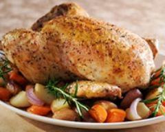 Recette poulet aux petits légumes