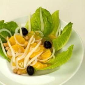 Salade de fenouil à l'orange pour 4 personnes