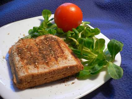 Recette de panini trois fromages à la syrienne