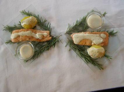 Recette de pavés de saumon au barbecue