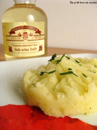 Recette ecrasé de pomme de terre à l'huile de truffes