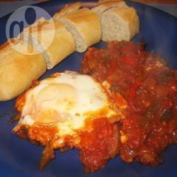 Recette tchakchouka (makbouba avec des œufs) – toutes les ...