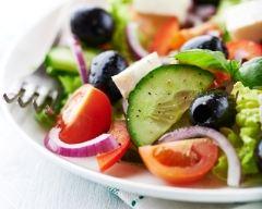 Recette salade grecque à la féta