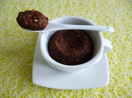 Recette de mugcake allégé pomme poire chocolat au son d'avoine ...