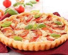 Recette quiche tomates et chèvre
