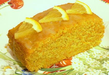 Recette de cake aux carottes et au gingembre