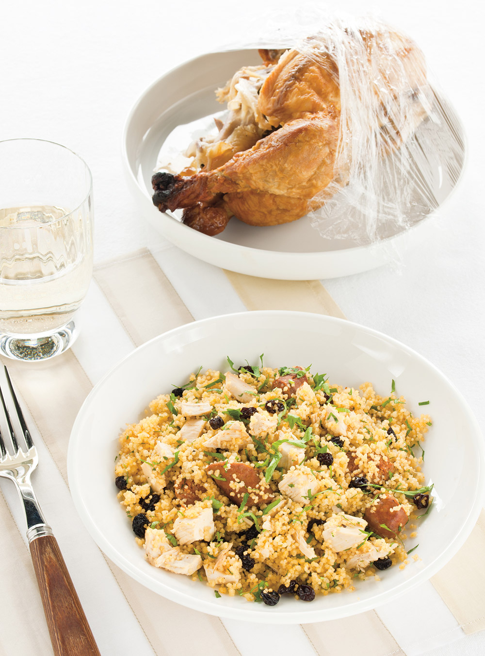 Couscous poulet-merguez à la coriandre | ricardo