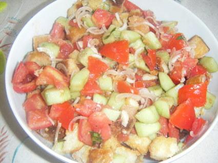 Recette de panzanella (ou salade au pain)