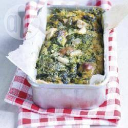 Recette cake aux épinards et aux fruits secs – toutes les recettes ...