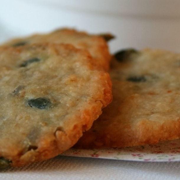 Recette biscuits aux graines et au parmesan,bio, sans gluten, oeufs ...