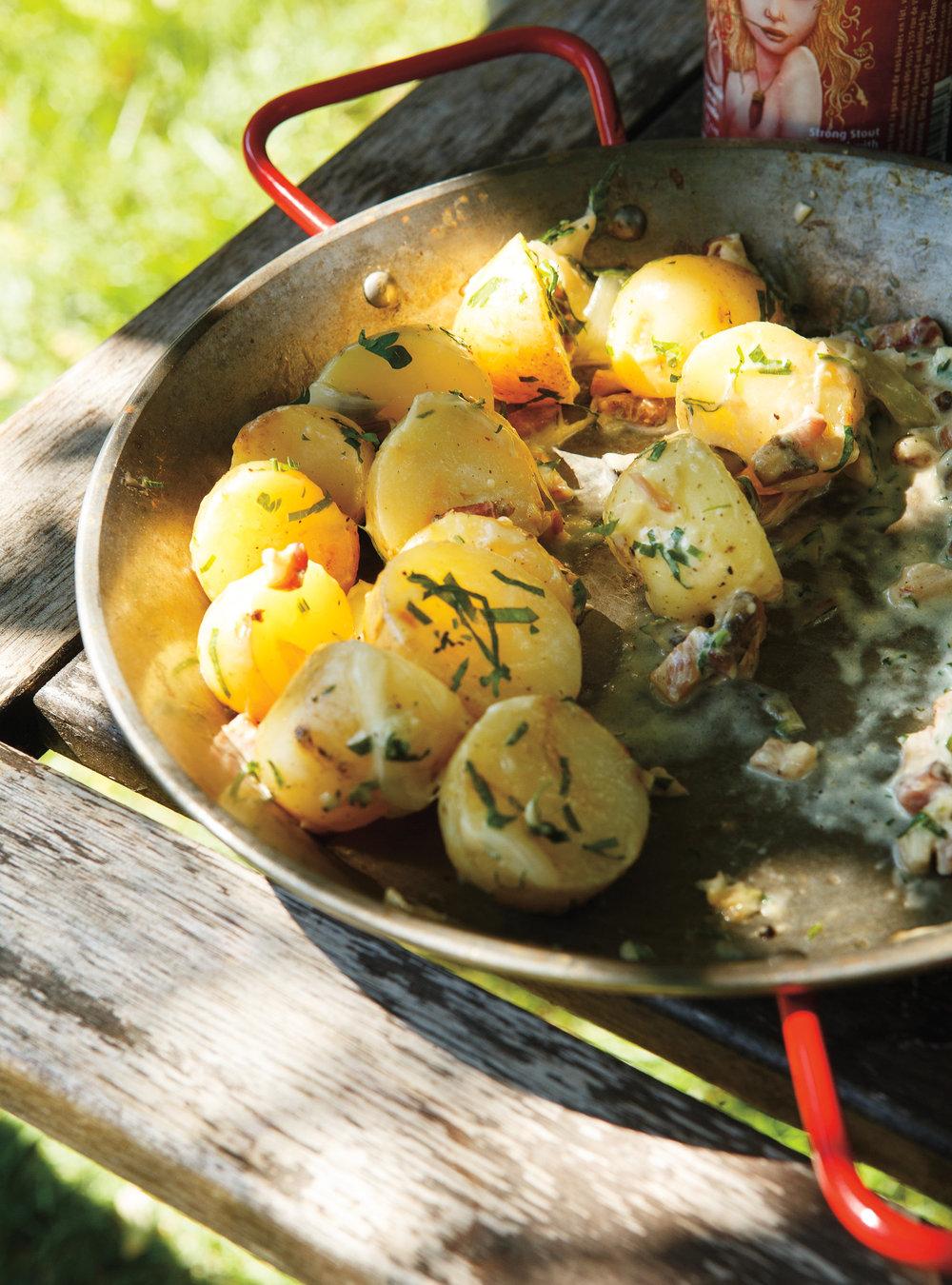 Pommes de terre en papillote à la crème | ricardo
