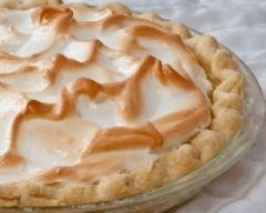 Recette tarte au citron meringuée, pâte maison