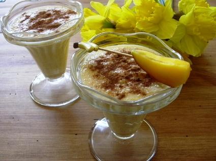 Recette de crème mangue-banane