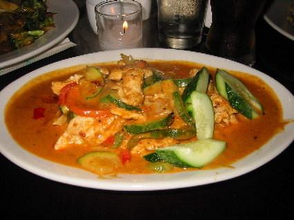 Recette de curry de poulet aux courgettes
