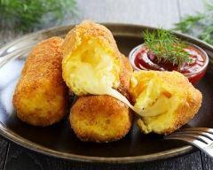 Recette croquettes de polenta au fromage