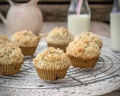 Recette muffins au streusel de petits-beurre
