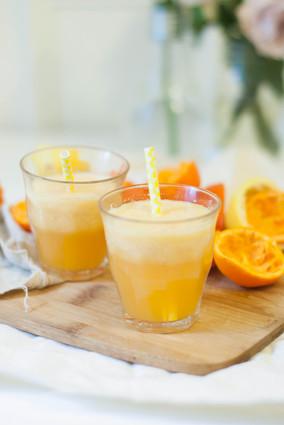 Recette de jus vitaminé mandarines, pomme, citron